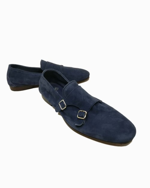 Dandy P2F-suede-blue-navy